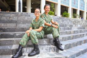'Ah girls' to women: A-level grads sign on with army
