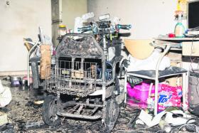 Off-duty SCDF officer puts out fire with neighbours' help