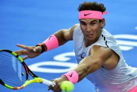 Rafael Nadal has not competed since pulling out of the Australian Open quarter-finals in January.