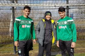 Fandi's sons aim to follow in father's footsteps