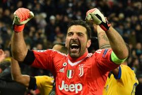 Juventus goalkeeper Gianluigi Buffon's Champions League dream is still alive, after his side defeated Spurs 2-1 to enter the last eight.
