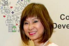 Senior Minister of State for Health Amy Khor.