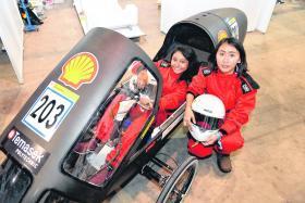 Temasek Polytechnic makes debut in Shell Eco-marathon