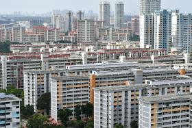 More HDB resale flats sold but prices dip slightly for second month