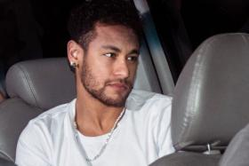 Neymar, who is recovering from a foot operation, is said to be unhappy at Paris Saint-Germain. A Madrid-based newspaper said his father is in contact with Real Madrid.
