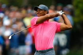Tiger Woods carded an assured four-under-par 67 to go joint-second on the penultimate day of the Valspar Championship.