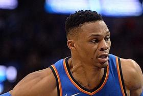 Westbrook and reserves shine as Thunder defeat Spurs