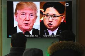Showman Trump abandons cautious Obama approach to N. Korea