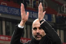 Pep plays down hopes of sealing title in derby
