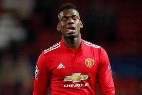Manchester United's record signing Paul Pogba, who missed the Liverpool game, came on as a substitute in the 60th minute, but was unable to do much.