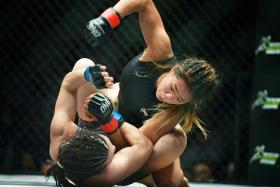 MMA star Angela Lee: Accident was a wake-up call