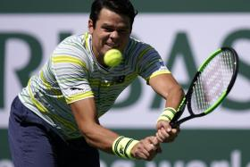 Milos Raonic is seeking to capture his ninth ATP Tour title.