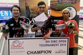Breakthrough for Singapore kegler Neo