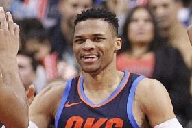 Westbrooks foils Raptors' record bid