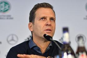 Bierhoff says Germany need to take next big step to stay competitive
