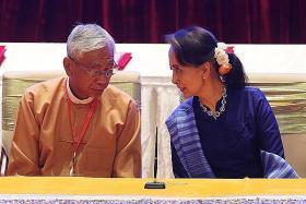 Suu Kyi loyalist set to replace Myanmar's ill president