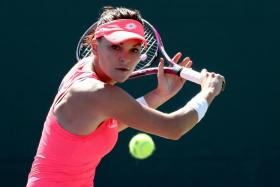 Agnieszka Radwanska, who won in Miami in 2012, had not posted back to back victories since January.