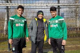 Fandi's Dutch legacy inspires Irfan, Ikhsan