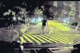 Uber driver gives chase to hit-and-run lorry driver