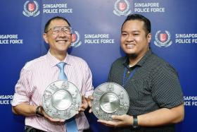Eight members of the public receive Public Spiritedness Award
