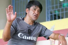Albirex Niigata coach Kazuaki Yoshinaga is into his second season with the Japanese side.
