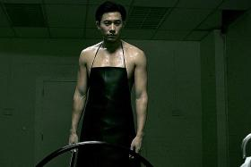Desmond Tan plays a serial killer in the fourth season of Code Of Law.