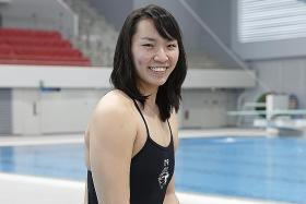 Swimmer Ho out to inspire