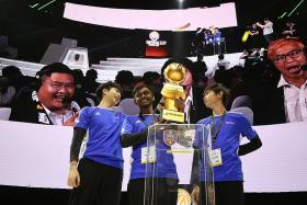 Singapore's Team Flash wins and makes World Cup Finals