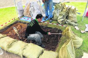 Archaeologists digging up the past at Singapore Art Museum