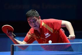Singapore paddler Gao Ning: Pressure's on the favourites, not us