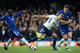 Harry Kane came on as a late substitute in Spurs' 3-1 win over Chelsea and showed no ill effects of the ankle injury he picked up last month.