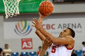 Slingers' swingman Xavier Alexander grabbed 23 points and 12 rebounds in the 82-85 defeat by Mono Vampire on Friday.