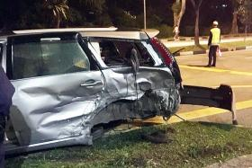 Five injured in Holland Road crash