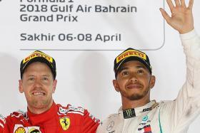 Vettel defends Hamilton after post-race Verstappen storm