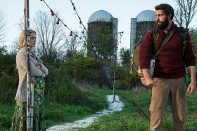John Krasinski is loud and proud of A Quiet Place and wife Emily Blunt
