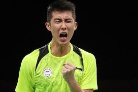Shuttler Loh keeps his cool to beat seventh seed