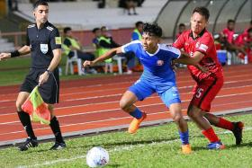 Fandi sees positives from Young Lions' first defeat