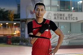 Singapore para-sprinter suspended after positive dope test