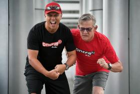 ONE FM DJs Flying Dutchman, Andre Hoeden run for a cause