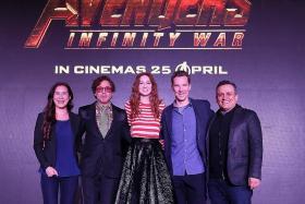 Marvel Mania: Iron Man, Doctor Strange and Nebula land in Singapore