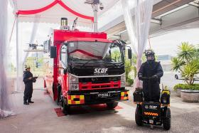New vehicles to boost SCDF capabilities in case of chemical attack