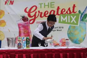 ITE students mix it up in F&N mocktail challenge