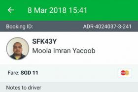 Grab driver helps passenger with heart attack