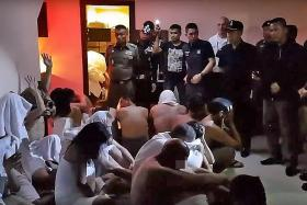 Singapore man among 25 nabbed at sex party in Thailand