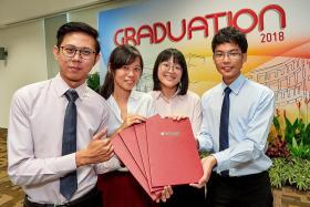 TP graduates power through struggles