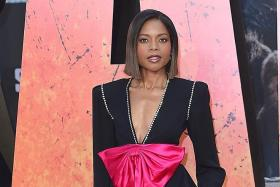 Rampage's green screen scenes a huge challenge: Naomie Harris