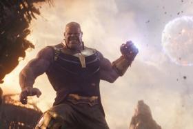 Thanos (Josh Broslin) in Avengers: Infinity War