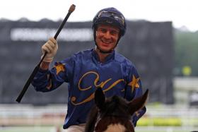 Vlad Duric, rider of Lord Ascot in the last of 10 races at Kranji tonight.