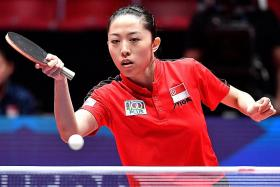 Singapore's women edged out by Ukraine