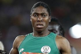 Semenya returns to running after IAAF rule change